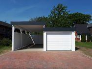Carport für Wohnmobil, Garage für Zugfahrzeug