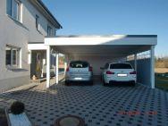 Doppelcarport Rabenstein bei Chemnitz mit Geräteraum Trendy