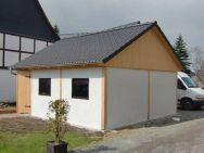 Fertiggarage Chemnitz - nach Bauherrenwunsch im Fachwerkstil