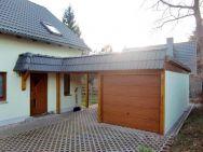 Garagen-Carport-Kombination - Chemnitz mit überdachtem Hauseingang nach Bauherrenwunsch
