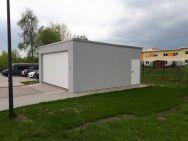 Großraumgarage für Wohnmobile und Wohnwagen