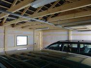 Satteldach-Doppel-Garage Trendy innen
