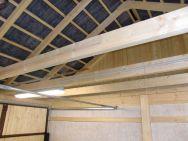 Satteldach-Garage Trendy innen